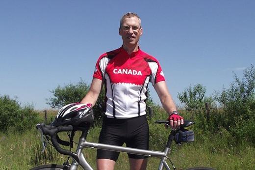 Rob Montgomery & Bike