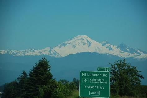 Mt Baker from Hwy 1