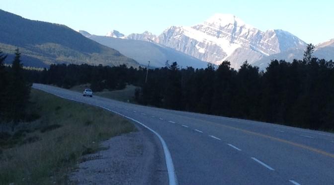 Day 8: Jasper to Edson 170 km