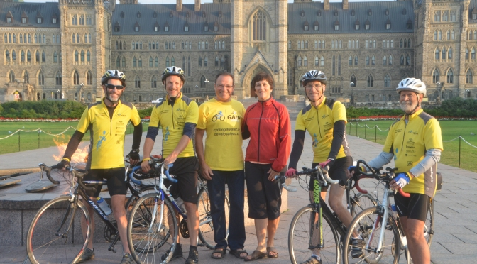 Day 35: Ottawa to Montreal 198 km